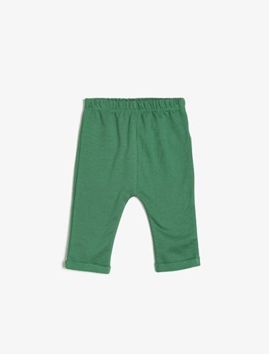 Koton Kids Düz Esofman Alti Yeşil